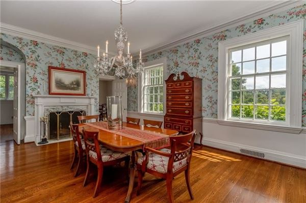 classic historic colonial on 42 acres luxury homes