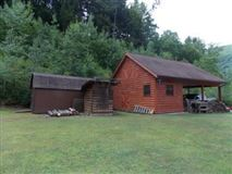 Luxury homes custom log home on 119 acres