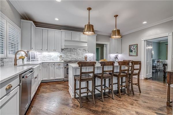 Luxury real estate updated Stately Colonial Home