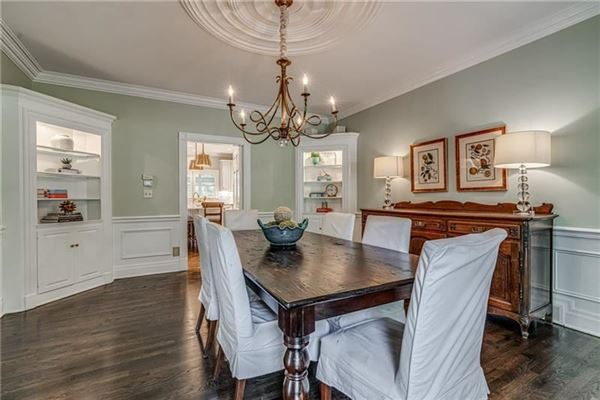 updated Stately Colonial Home luxury real estate