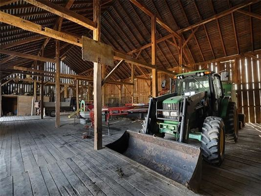 Luxury homes in 1850 residence and historic 256 acre working farm