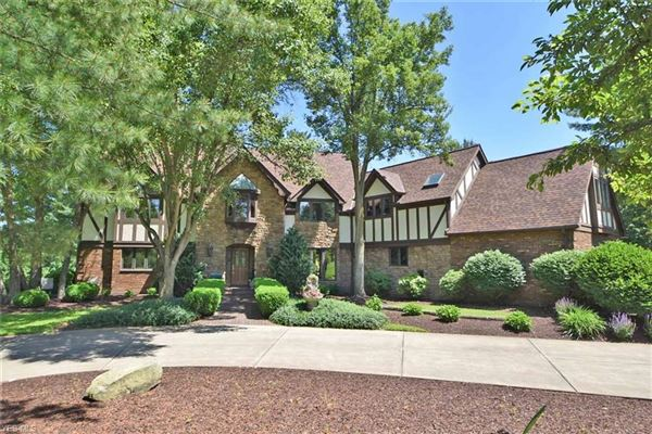 One of a kind custom Tudor style home luxury homes