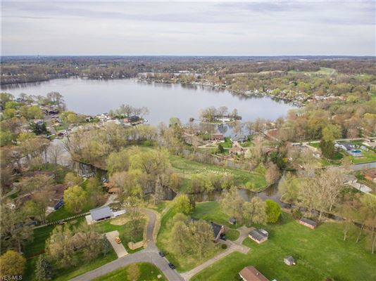 Luxury real estate Five acre island on Turkeyfoot Lake