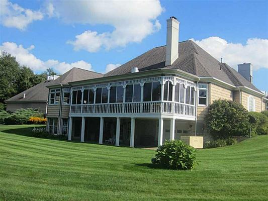 Luxury homes a Grand lakefront estate