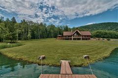 Mansions magnificent waterfront residence on amazing acres