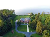 Luxury properties Colonial style estate with sweeping river views