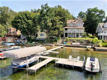 Luxury properties Custom lakefront masterpiece