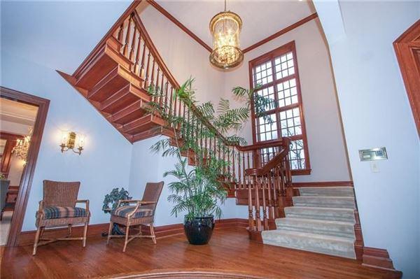 Luxury homes newer custom built Sewickley home