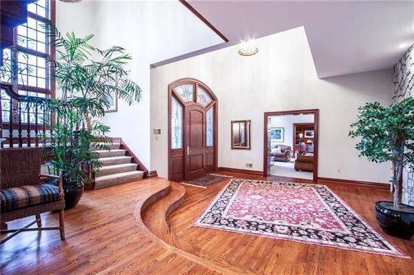 newer custom built Sewickley home luxury homes