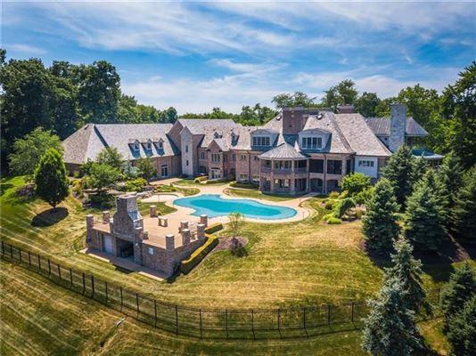 Luxury properties newer custom built Sewickley home