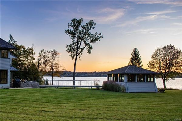 Luxury homes a Magnificent Skaneateles waterfront estate