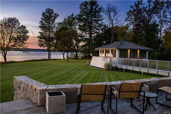 a Magnificent Skaneateles waterfront estate  luxury homes