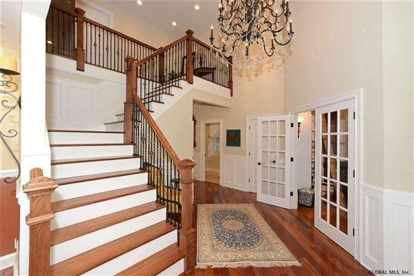 custom estate in Clifton Park  mansions