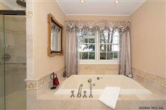 Mansions in custom estate in Clifton Park