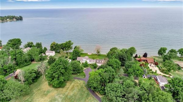 Luxury homes exquisite home with stunning views along Lake Erie