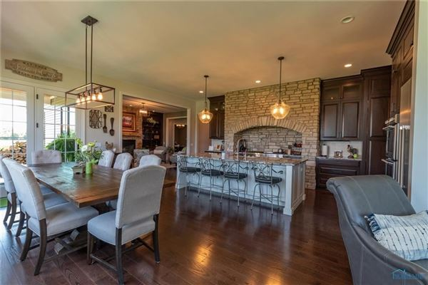 STUNNING CUSTOM RANCH HOME luxury properties