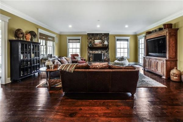 Luxury real estate impeccably-crafted home on six-plus acres