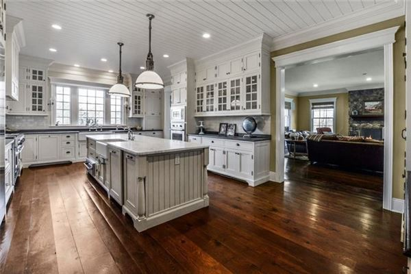 Luxury properties impeccably-crafted home on six-plus acres