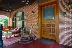 Luxury homes Beautiful Italianate red brick mansion