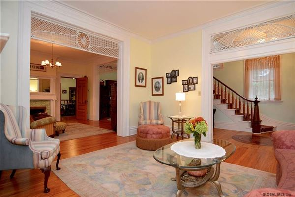 Beautiful Italianate red brick mansion mansions