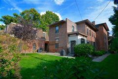 Beautiful Italianate red brick mansion luxury properties