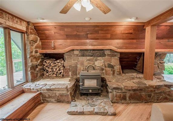 Unique home on 19 acres in Cheat Lake luxury real estate