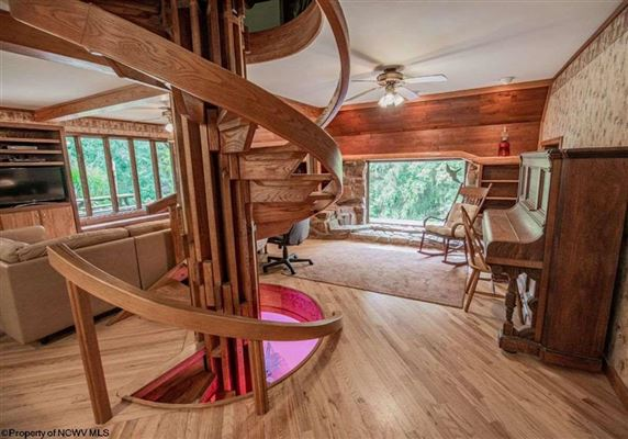 Unique home on 19 acres in Cheat Lake luxury properties