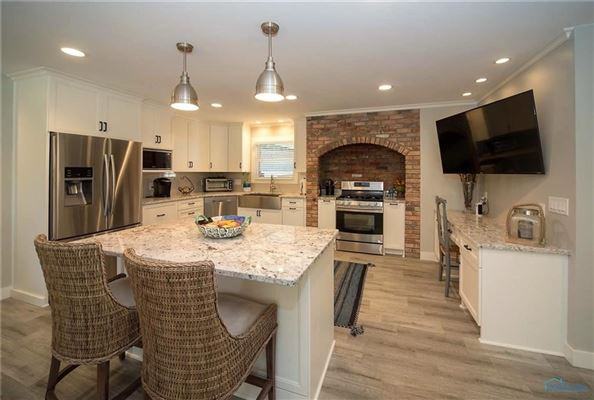 Luxury homes in Stunning remodel in port clinton