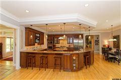 Exquisite custom home on five-plus private acres mansions
