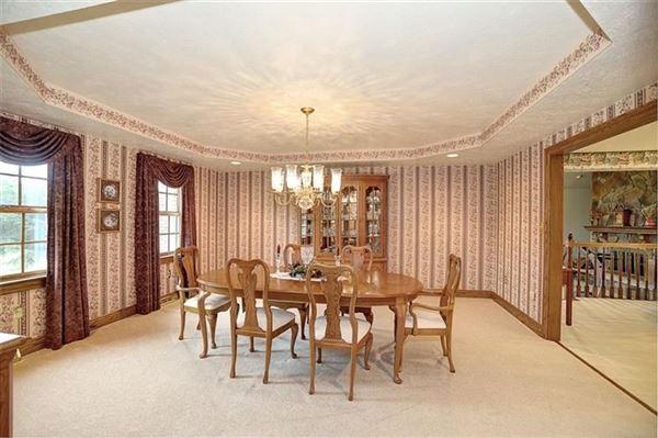 Custom brick masterpiece  luxury homes