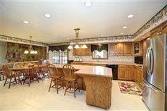 Luxury homes Custom brick masterpiece