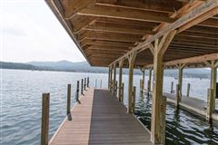 Luxury homes in prime East side Lake George home