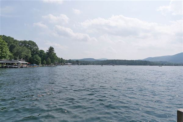 Luxury real estate prime East side Lake George home