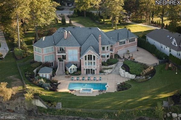 Luxury homes in extraordinary gated lakefront estate