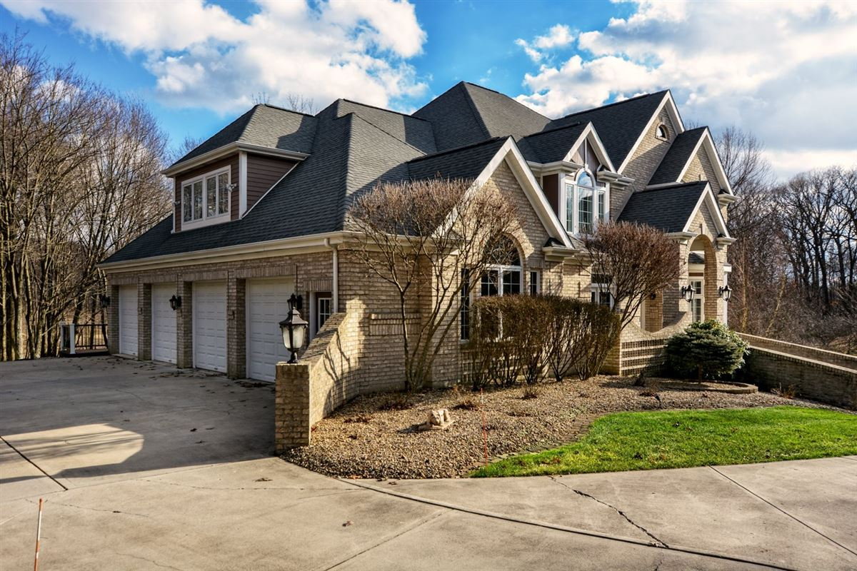 Exquisite Estate Home on 3.25 Wooded Acres! luxury homes