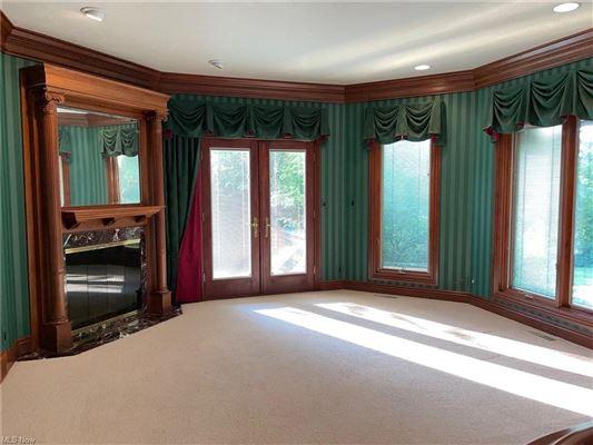 Luxury properties custom built Tudor style home