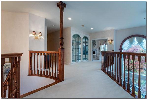 Mansions in custom built Tudor style home