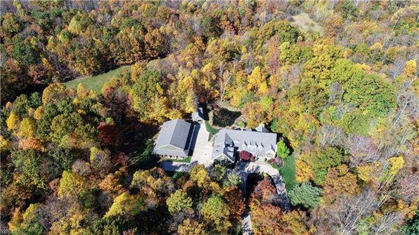 gated nine-plus acre estate mansions