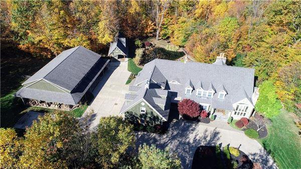 Luxury properties gated nine-plus acre estate