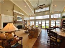 Luxury homes custom home on a lake to bay Cedar Point lot