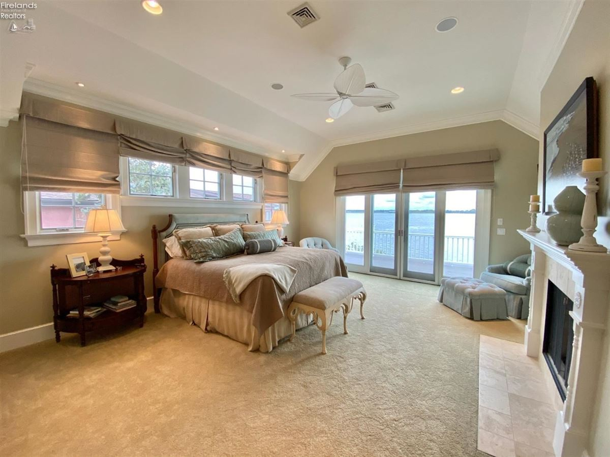 Mansions custom home on a lake to bay Cedar Point lot