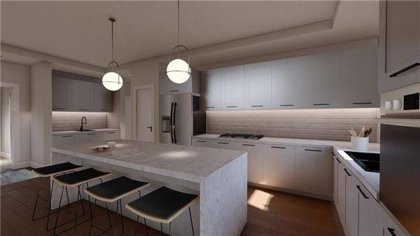 Luxury real estate Sleek, Contemporary Design