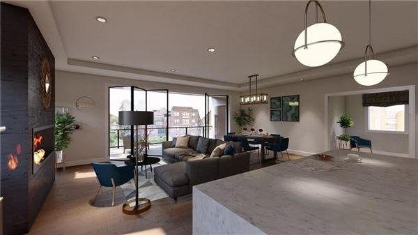 Mansions Sleek, Contemporary Design