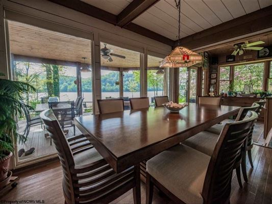 Luxury real estate chic and rustic amazing home on cheat lake