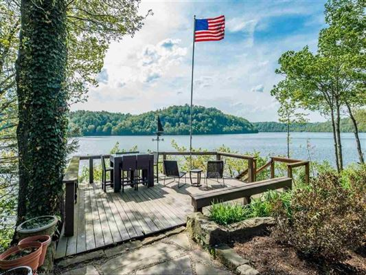 Mansions chic and rustic amazing home on cheat lake