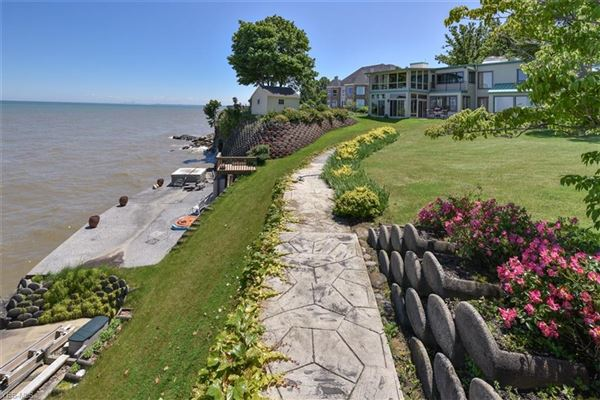 Luxury homes private waterfront playground