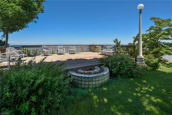 Luxury real estate private waterfront playground
