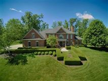 Pristine custom built all brick home mansions
