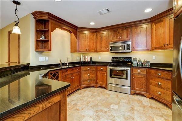 Pristine custom built all brick home luxury real estate