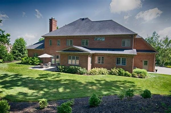 Mansions Pristine custom built all brick home